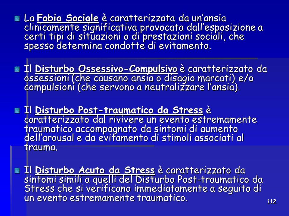 La Fobia Sociale è caratterizzata da un'ansia clinicamente significativa provocata dall'esposizione a certi tipi di situazioni o di prestazioni sociali, che spesso determina condotte di evitamento.