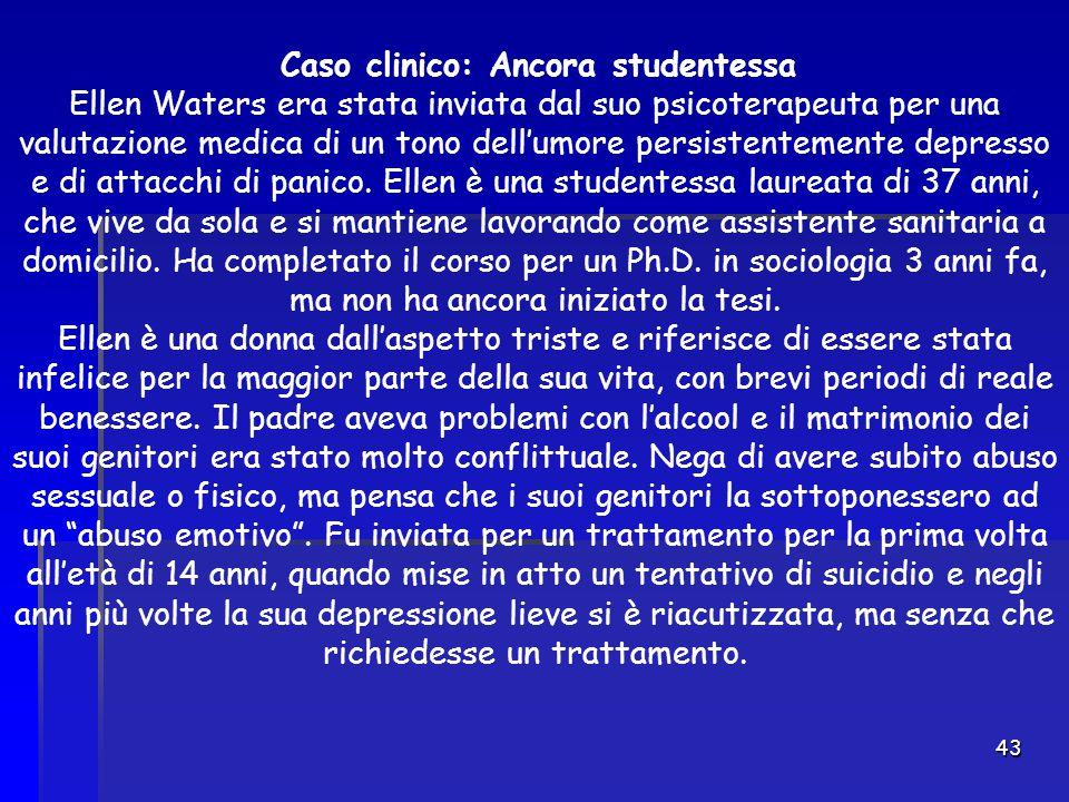 Caso clinico: Ancora studentessa