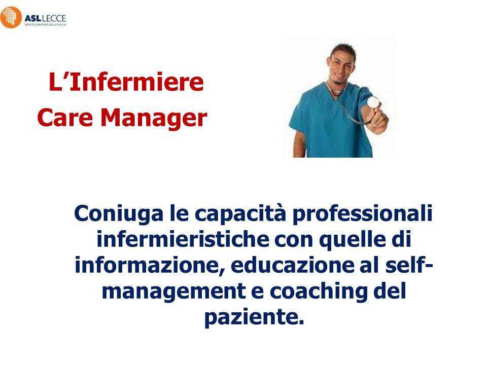 L'Infermiere Care Manager