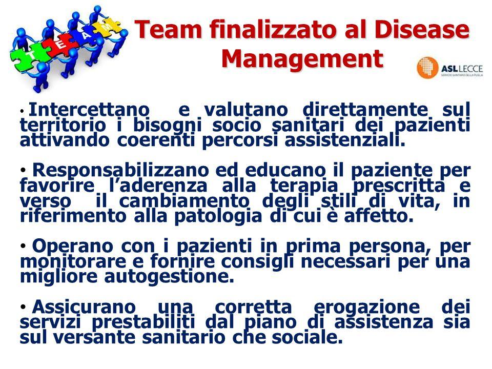 Team finalizzato al Disease Management