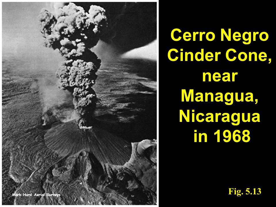 Cerro Negro Cinder Cone, near Managua, Nicaragua in 1968