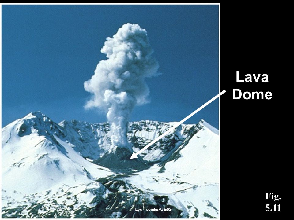 Lava Dome Fig. 5.11 Lyn Topinka/USGS