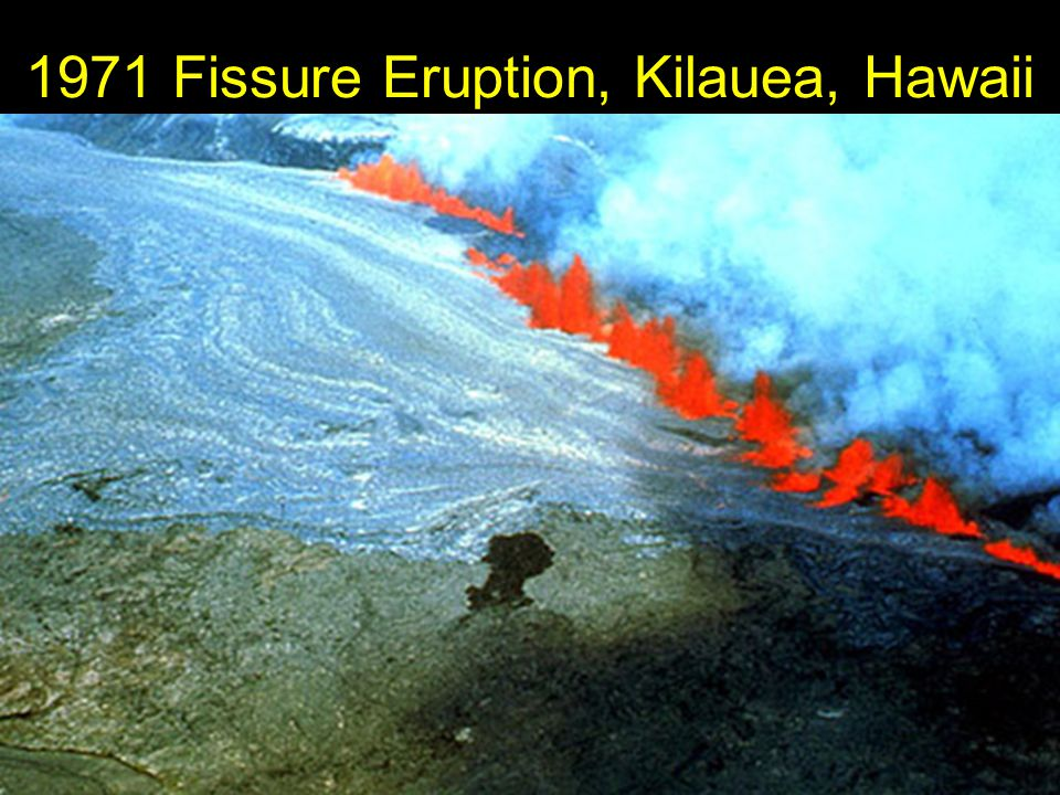 1971 Fissure Eruption, Kilauea, Hawaii