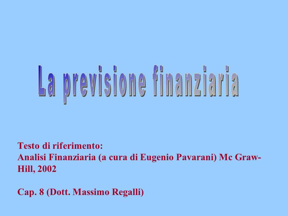 La previsione finanziaria