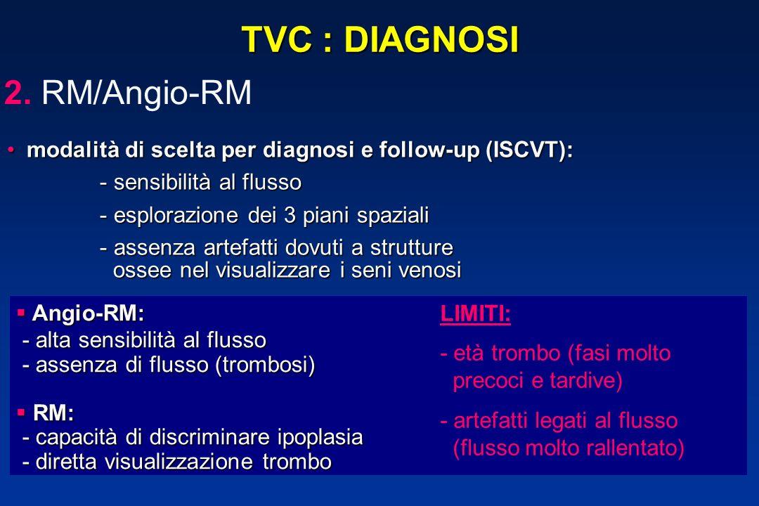 TVC : DIAGNOSI RM/Angio-RM