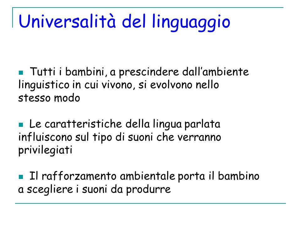 Universalità del linguaggio