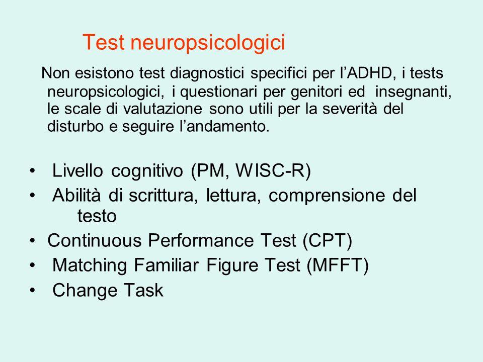 Test neuropsicologici