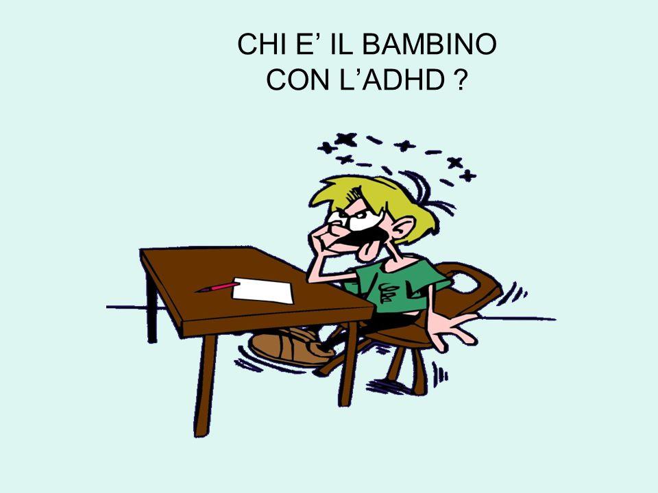 CHI E' IL BAMBINO CON L'ADHD