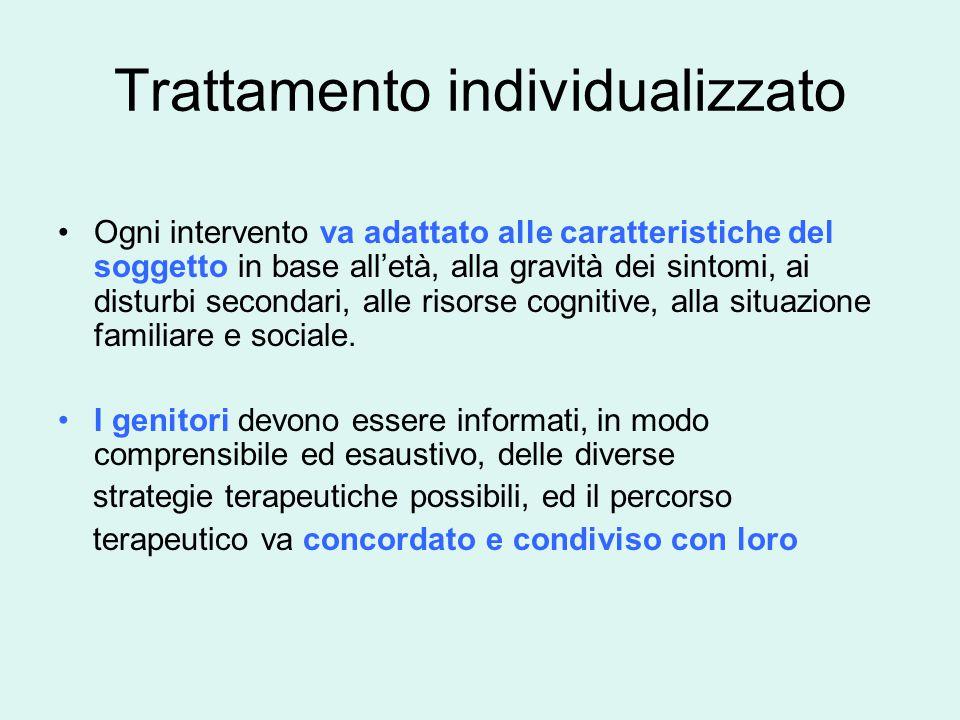 Trattamento individualizzato