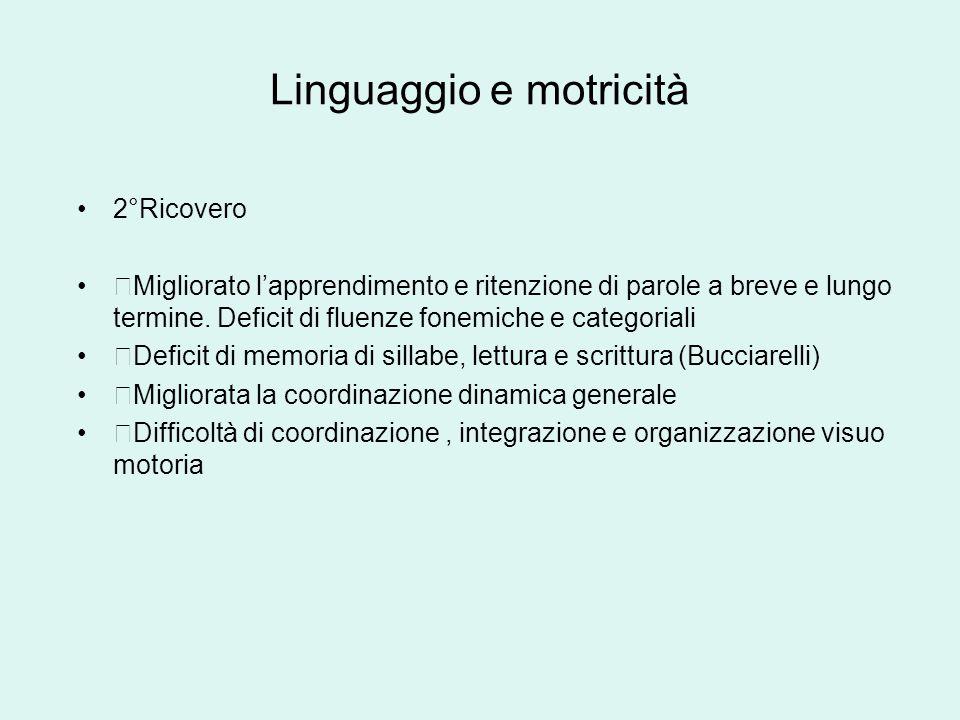 Linguaggio e motricità