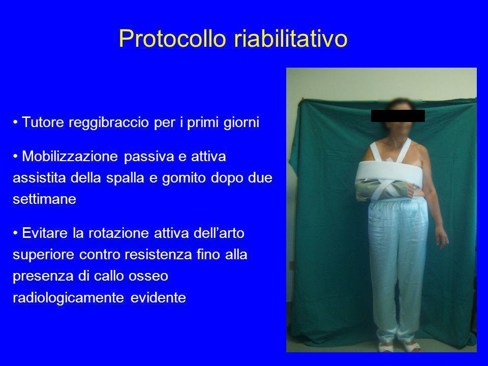 Protocollo riabilitativo