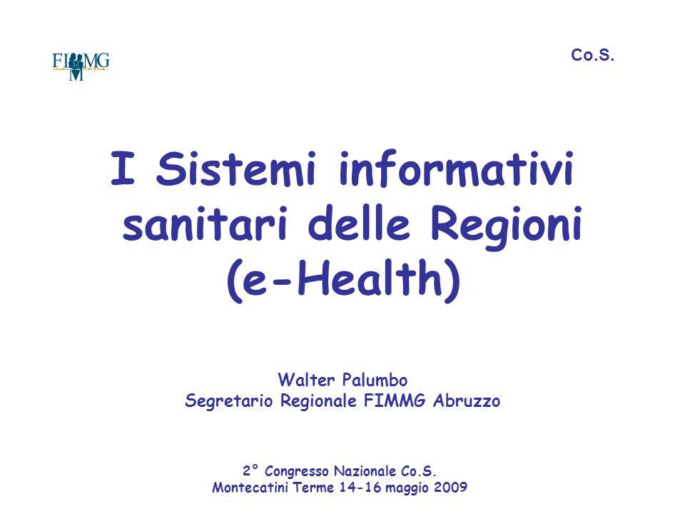 2° Congresso Nazionale Co.S. Montecatini Terme 14-16 maggio 2009