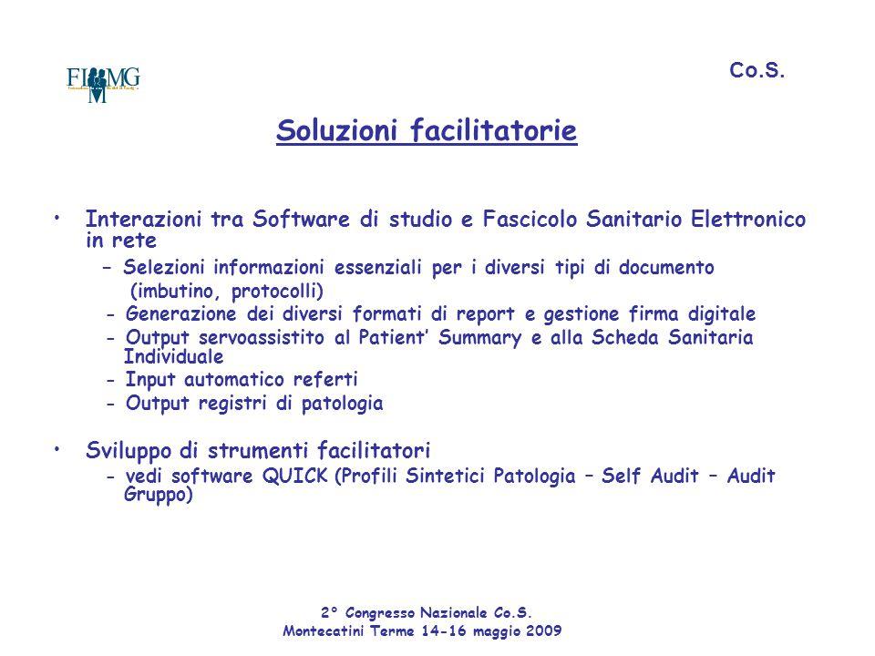 - Selezioni informazioni essenziali per i diversi tipi di documento