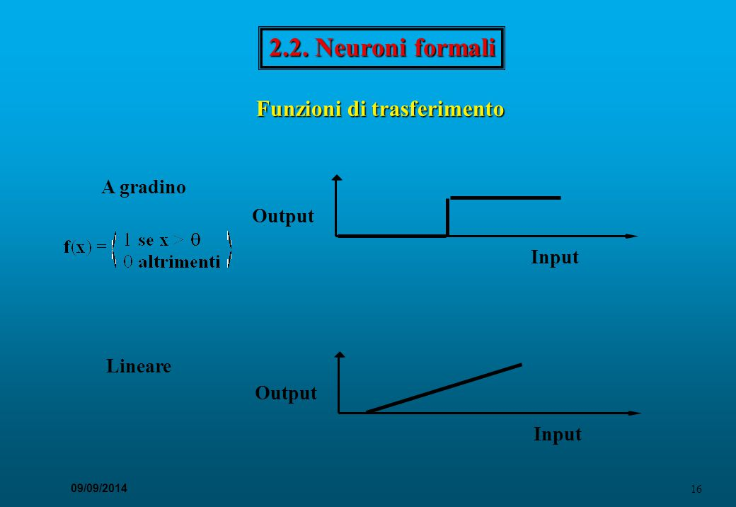 Funzioni di trasferimento