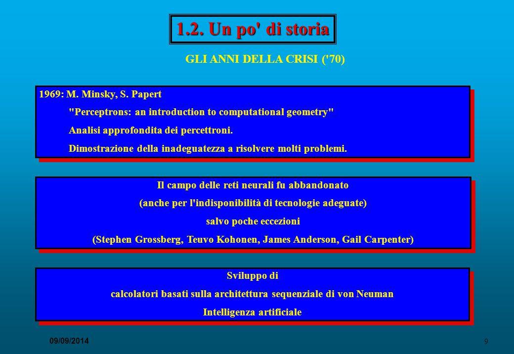 1.2. Un po di storia GLI ANNI DELLA CRISI ( 70)