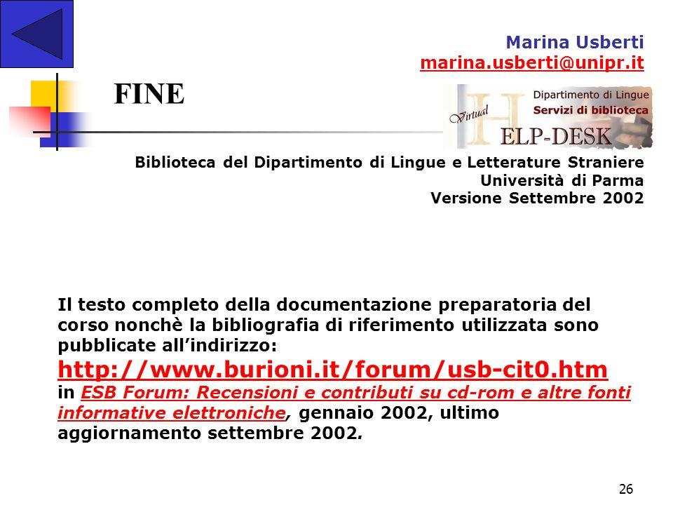 FINE http://www.burioni.it/forum/usb-cit0.htm Marina Usberti