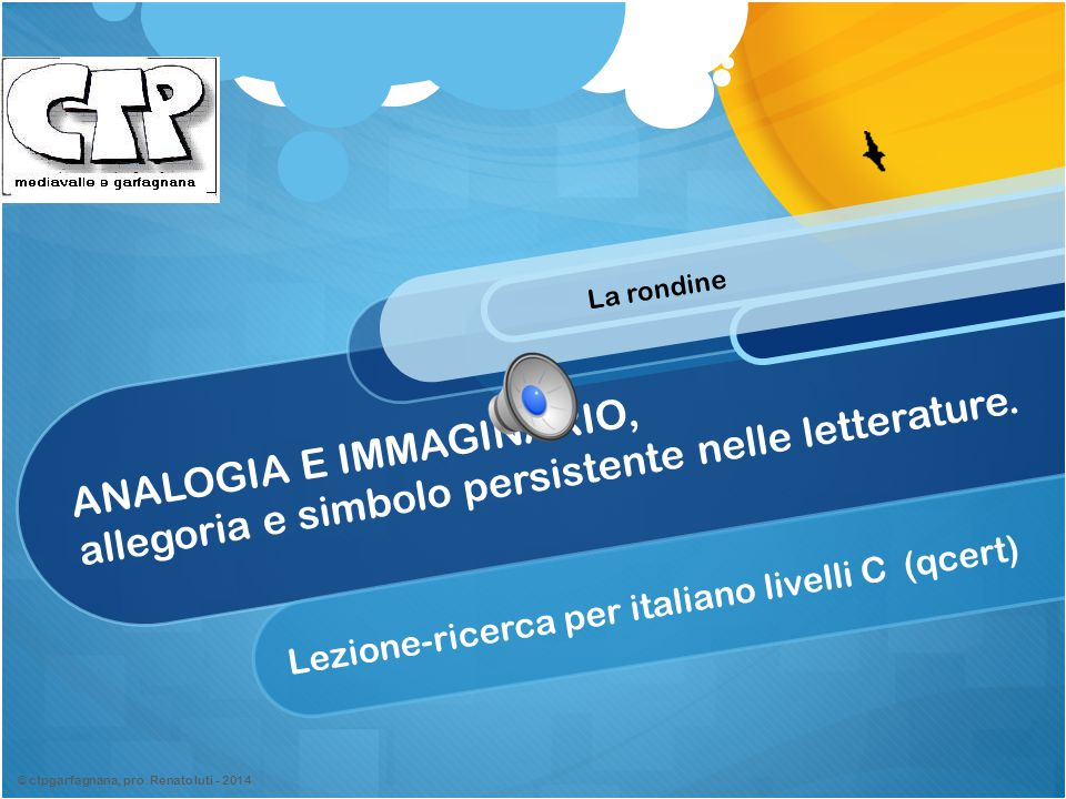 Lezione-ricerca per italiano livelli C (qcert)