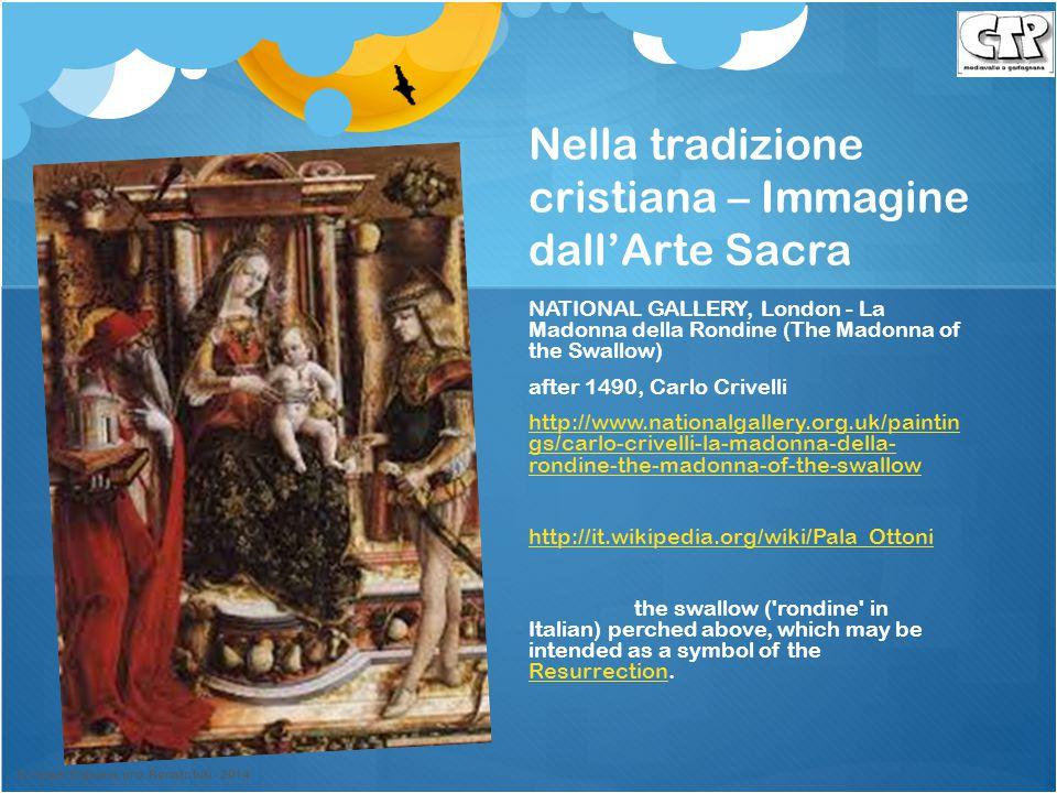 Nella tradizione cristiana – Immagine dall'Arte Sacra