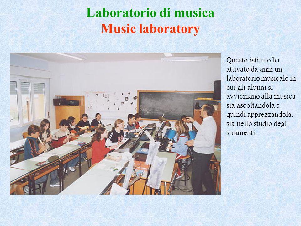 Laboratorio di musica Music laboratory