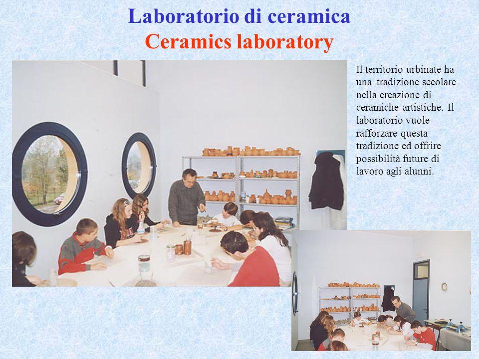 Laboratorio di ceramica Ceramics laboratory