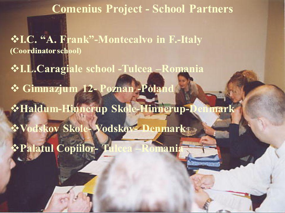 Comenius Project - School Partners