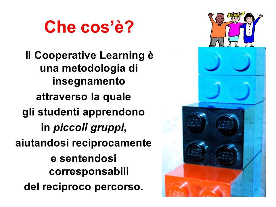 Che cos'è Il Cooperative Learning è una metodologia di insegnamento