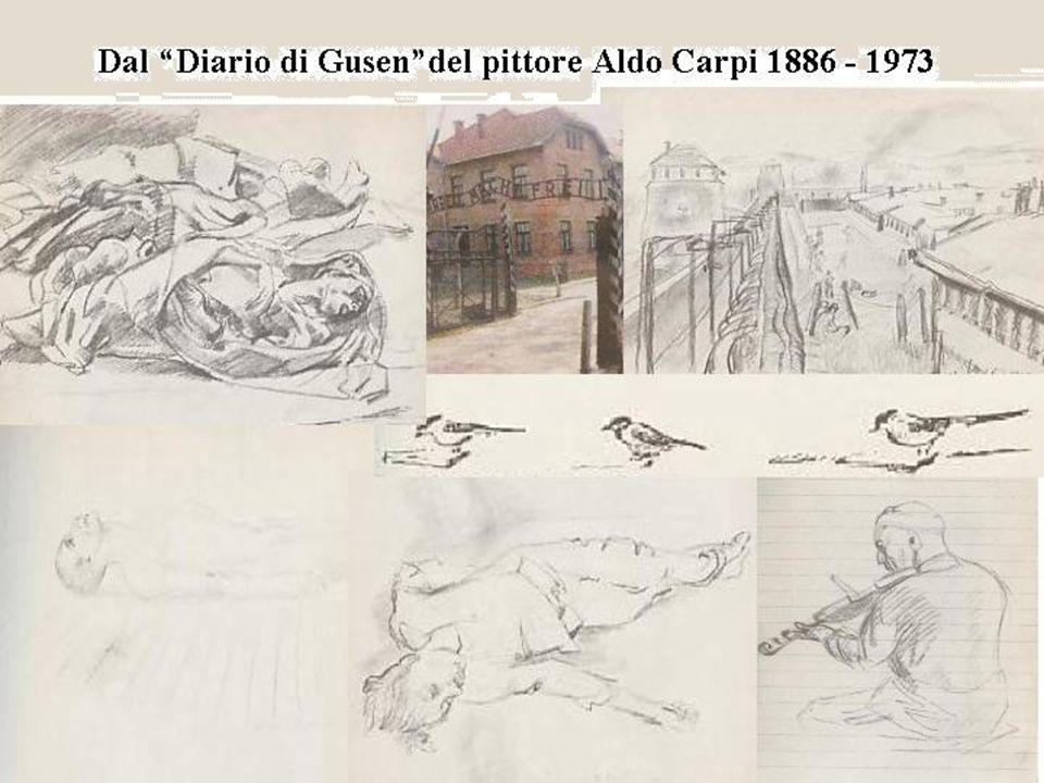 Dal Diario di Gusen del pittore Aldo Carpi 1886 - 1973