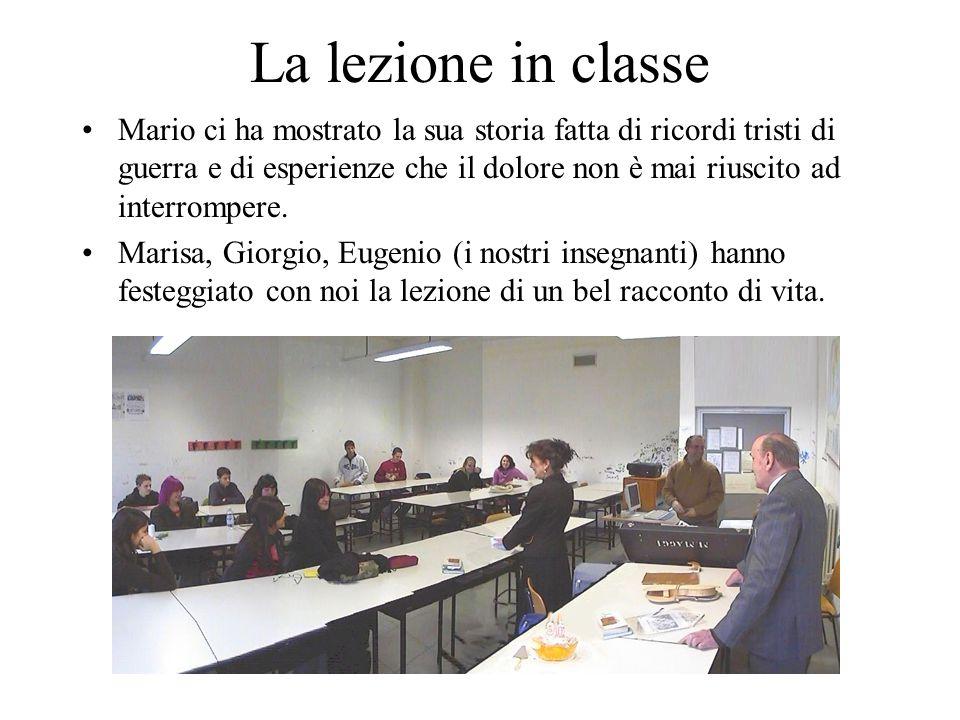 La lezione in classe