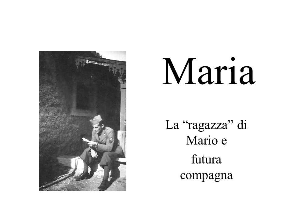 La ragazza di Mario e futura compagna