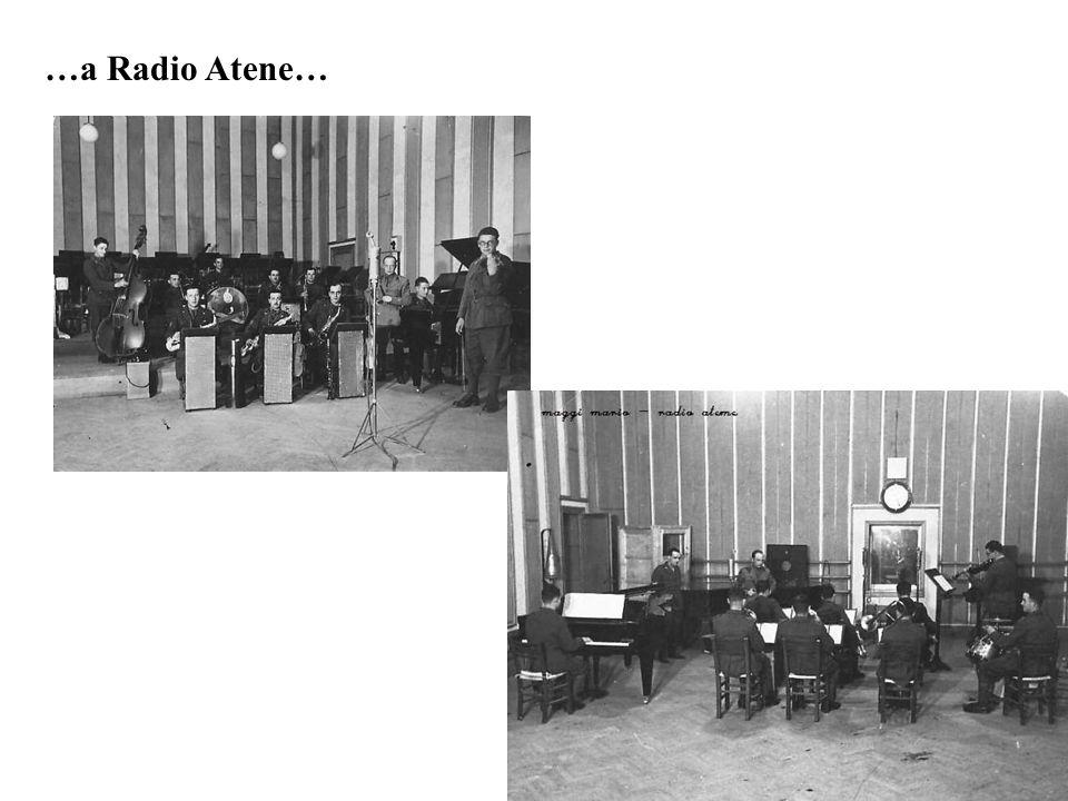 …a Radio Atene…