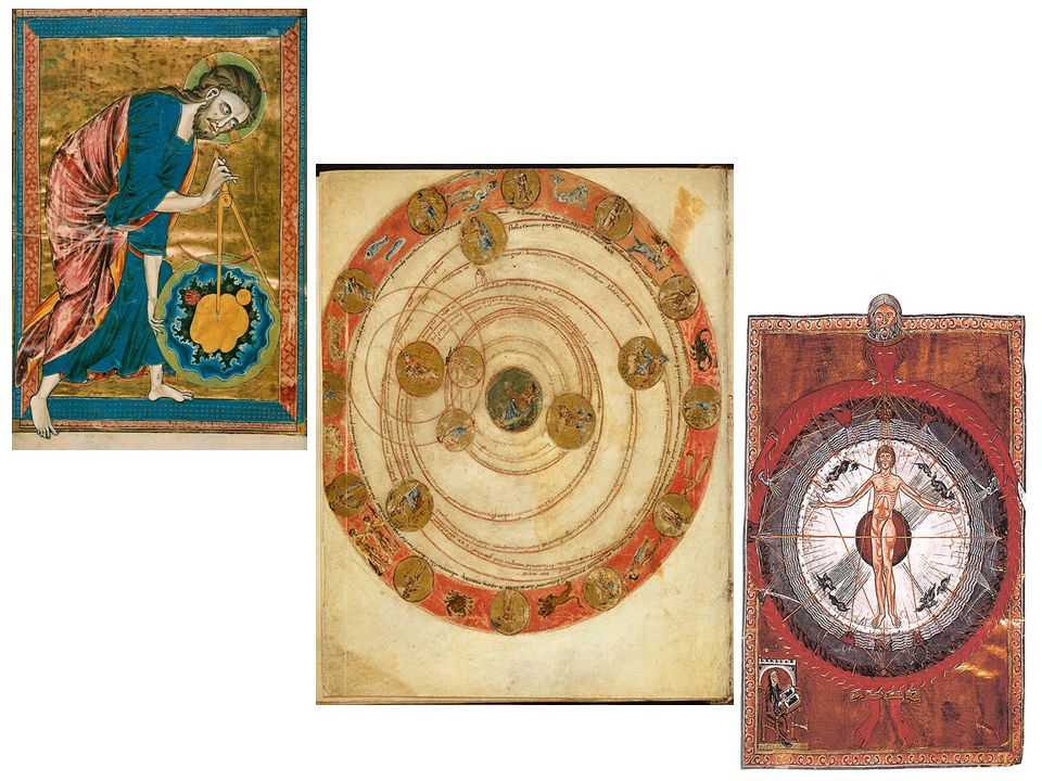 The medieval Cosmos, created by God for Man.