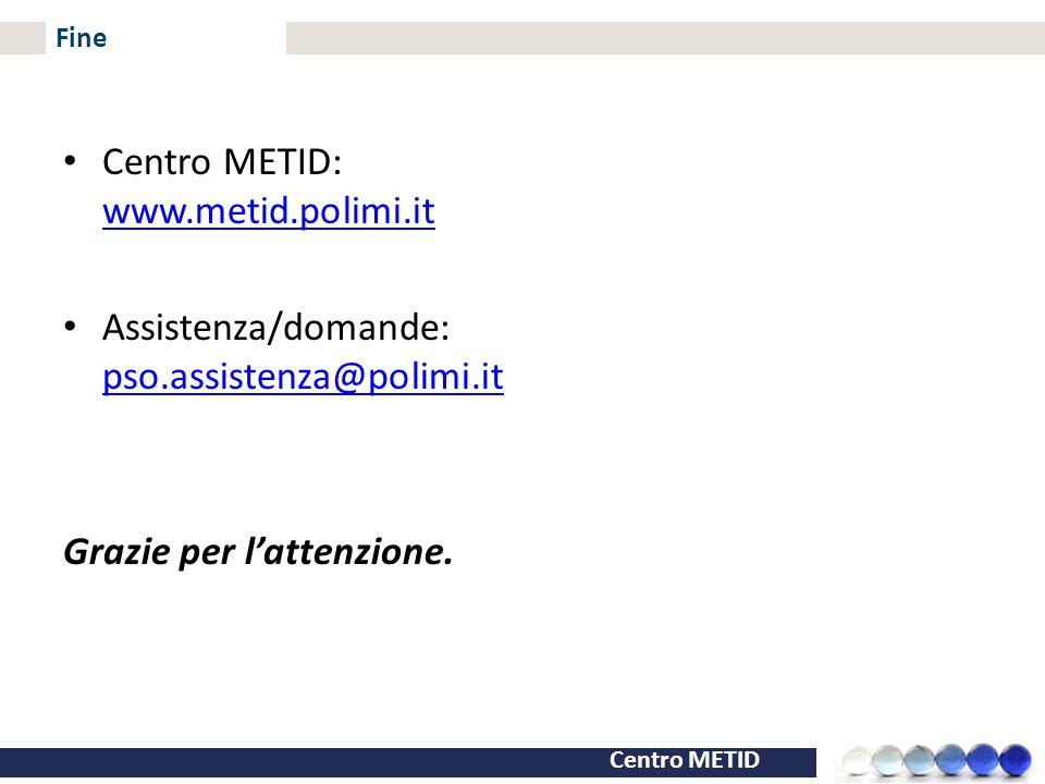 Centro METID: www.metid.polimi.it