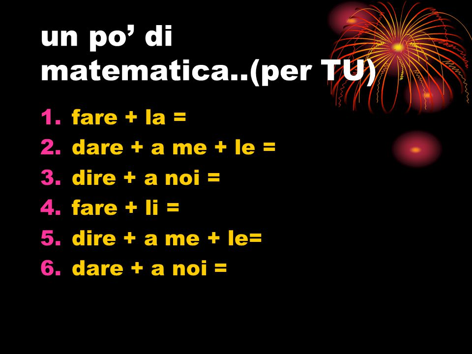 un po' di matematica..(per TU)