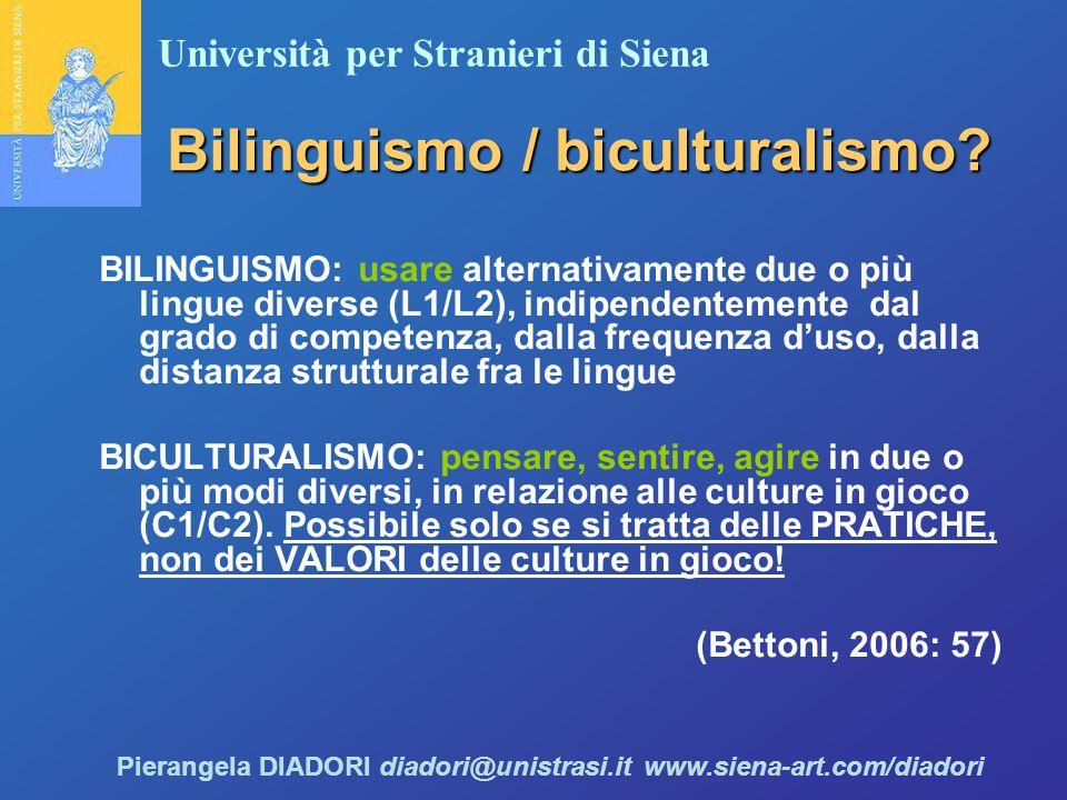 Bilinguismo / biculturalismo