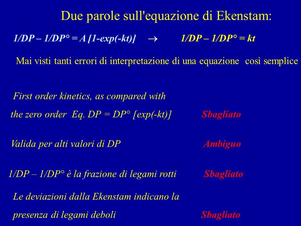 Due parole sull equazione di Ekenstam: