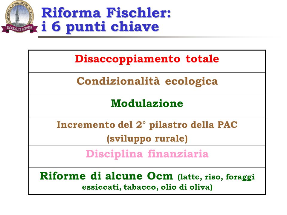 Riforma Fischler: i 6 punti chiave