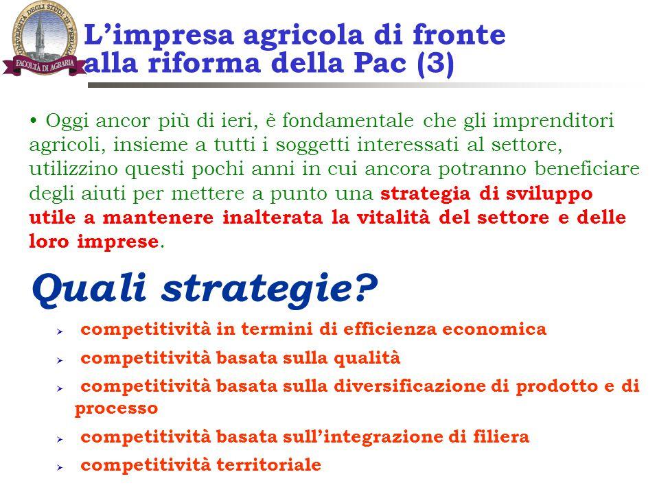 L'impresa agricola di fronte alla riforma della Pac (3)