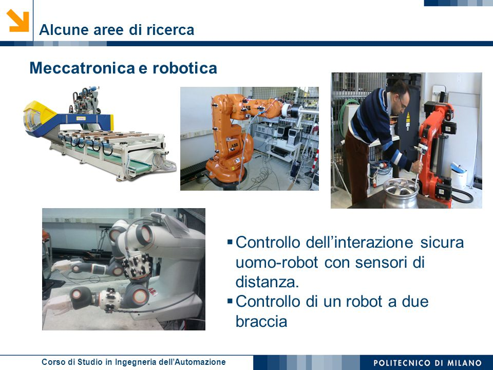 Meccatronica e robotica