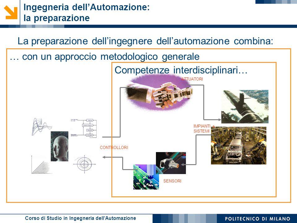 Ingegneria dell'Automazione: la preparazione