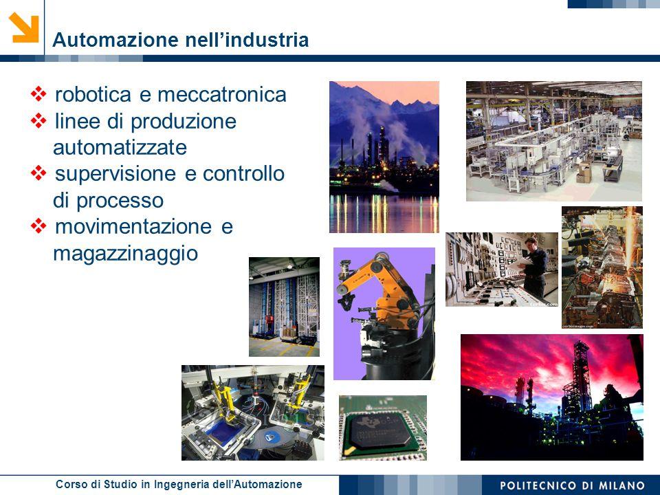 robotica e meccatronica linee di produzione automatizzate