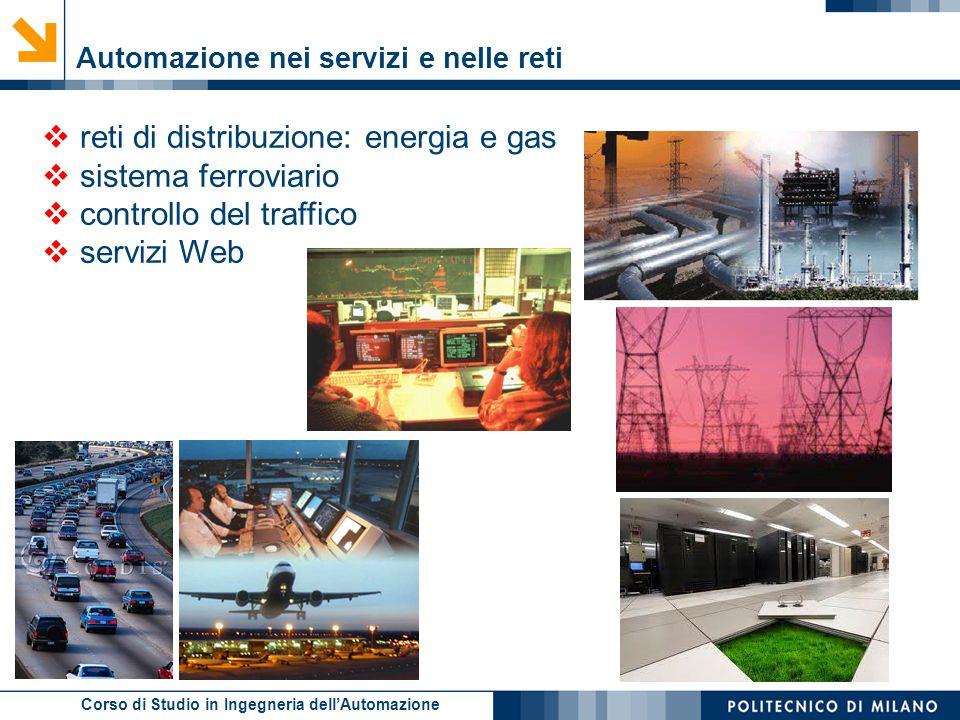 reti di distribuzione: energia e gas sistema ferroviario