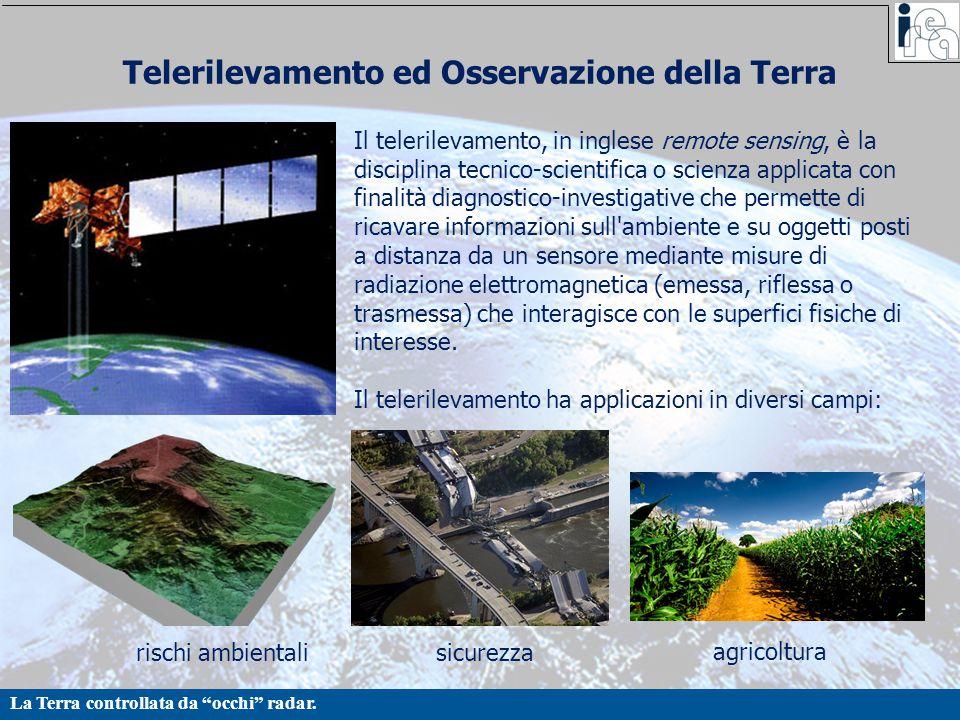 Telerilevamento ed Osservazione della Terra