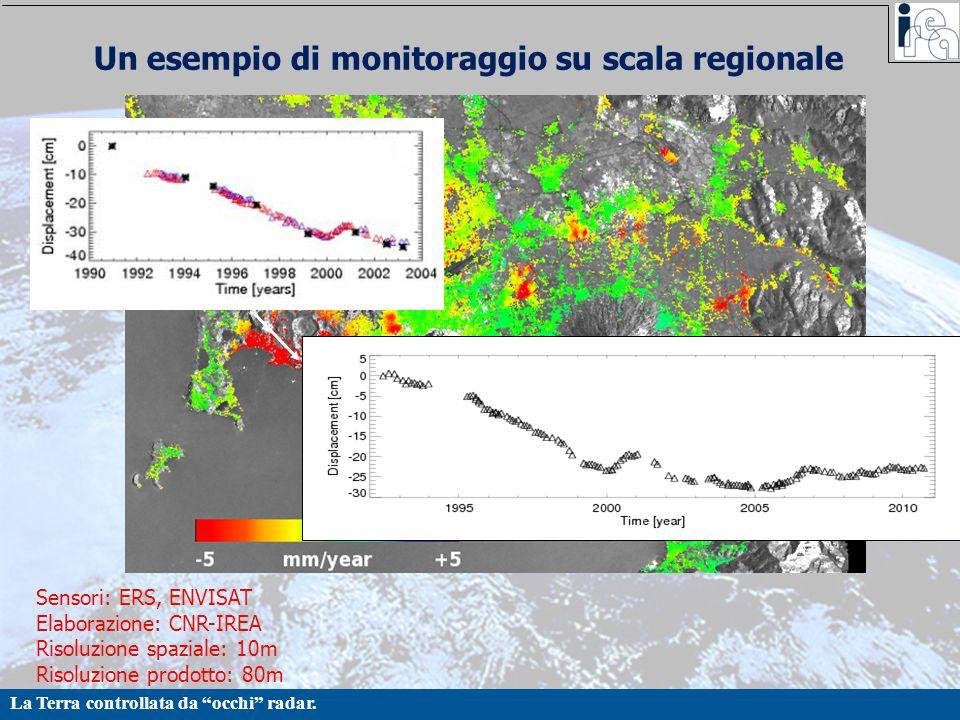 Un esempio di monitoraggio su scala regionale