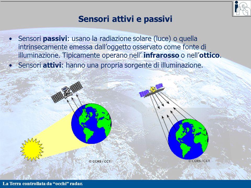 Sensori attivi e passivi