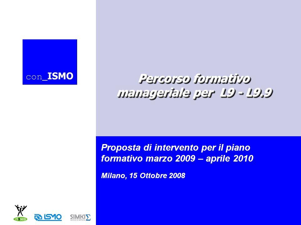 Percorso formativo manageriale per L9 - L9.9