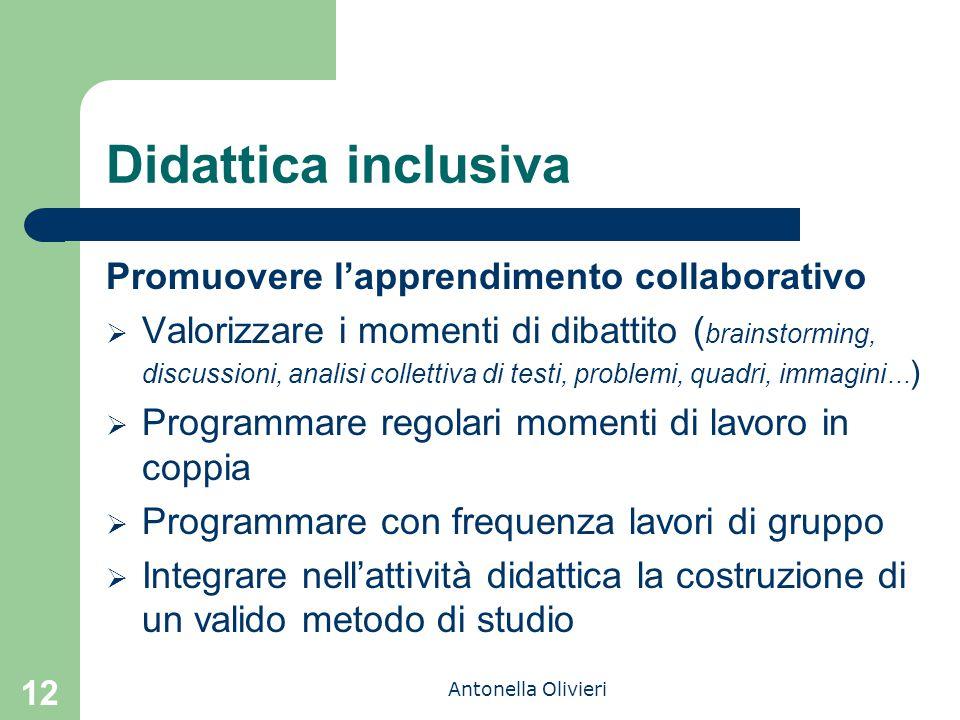 Didattica inclusiva Promuovere l'apprendimento collaborativo