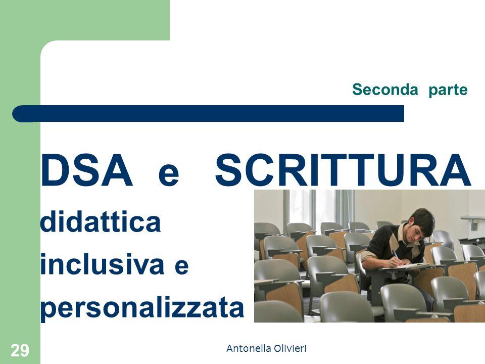 DSA e SCRITTURA didattica inclusiva e personalizzata Seconda parte