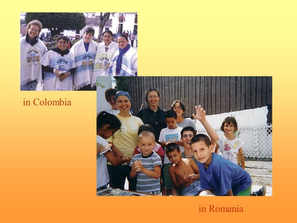 in Colombia in Romania