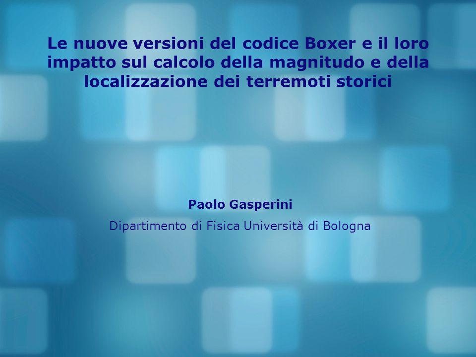 Dipartimento di Fisica Università di Bologna