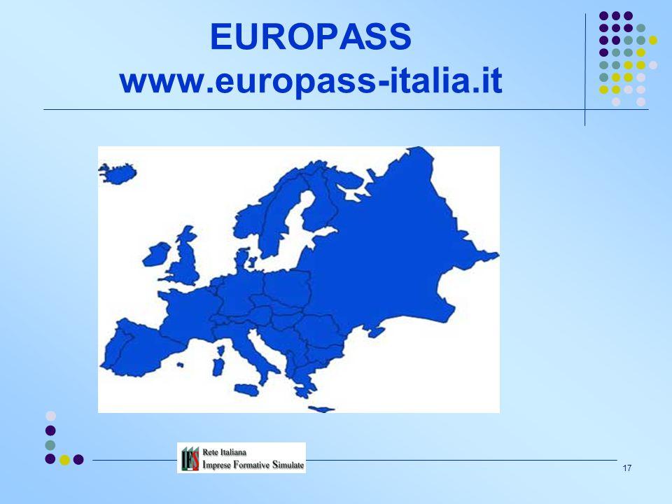 EUROPASS www.europass-italia.it